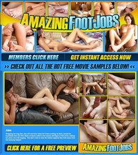 Amazing Footjobs
