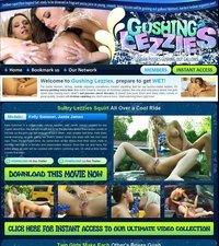Gushing Lezzies