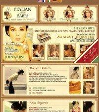 Italian Movie Babes