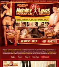 Mommy Loves Monster Cocks