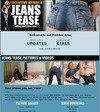 Jeans Tease Members Area