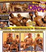 Ebony Gay Orgy