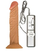 Realskin All American Vibrating Dildo