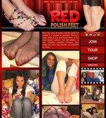 Red Polish Feet